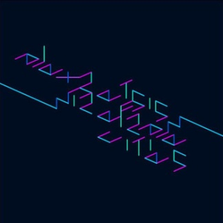 """alex retsis - wireframe cities """" Game of Life Label release 36"""